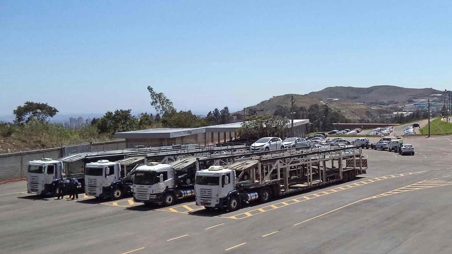 Logística, distribuição e transporte